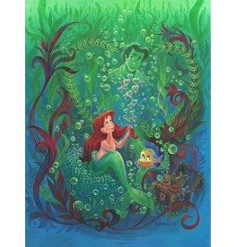 DISNEY Forever In My Heart - Disney Treasure On Canvas