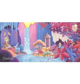 DISNEY Garden of Beauty - Disney Treasure On Canvas