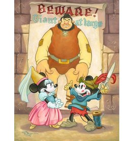 DISNEY Giant At Large - Disney Treasure On Canvas