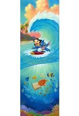 DISNEY Hawaiian Roller Coaster -  Disney Treasure On Canvas