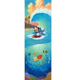 DISNEY Hawaiian Roller Coaster -  Disney Treasure On Canvas