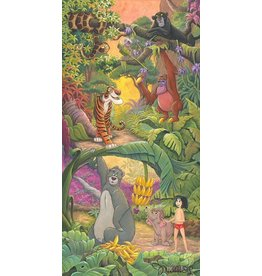DISNEY Home In The Jungle -  Disney Treasure On Canvas