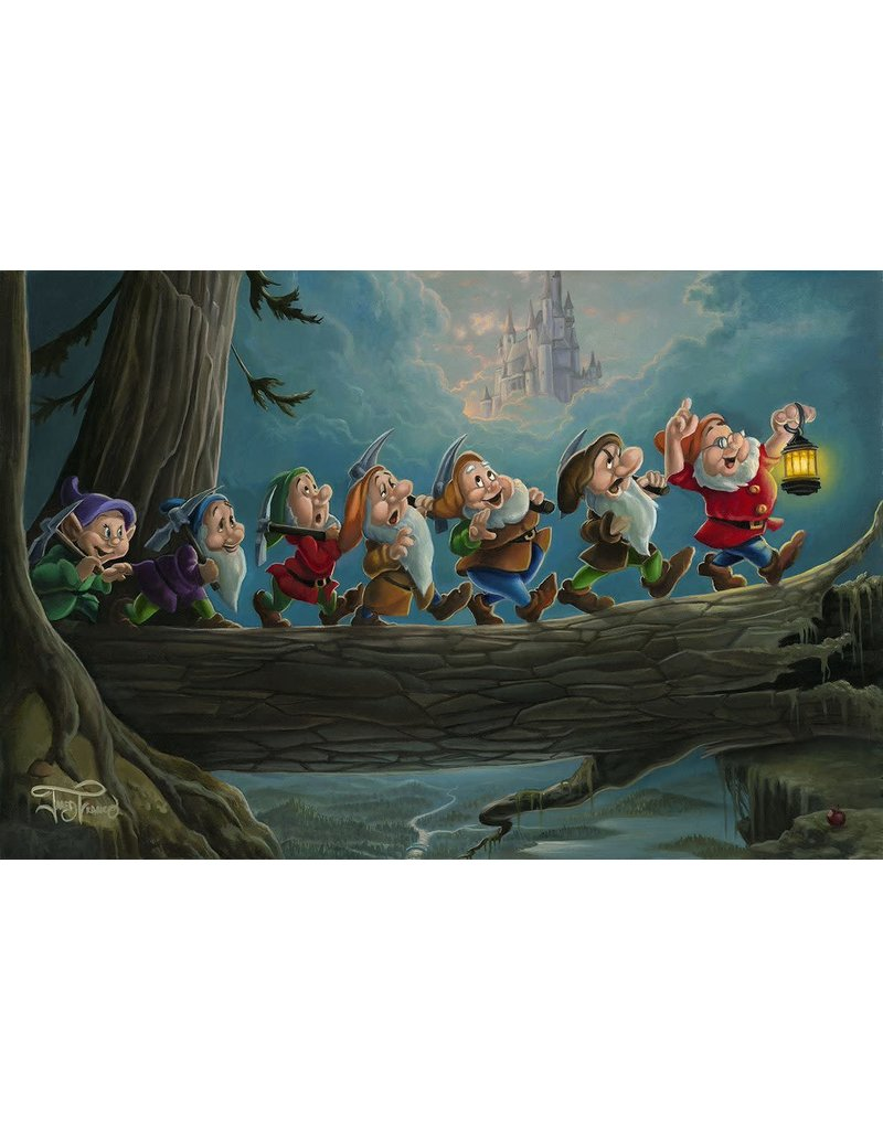 DISNEY Home To Snow -  Disney Treasure On Canvas