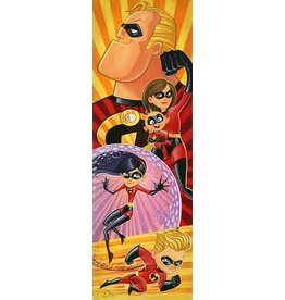 DISNEY Incredibles To The Rescue -  Disney Treasure On Canvas