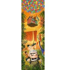 DISNEY Journey To Paradise Falls -  Disney Treasure On Canvas