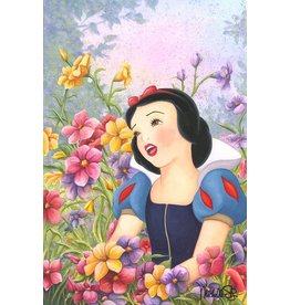 DISNEY Love In Full Bloom -  Disney Treasure On Canvas