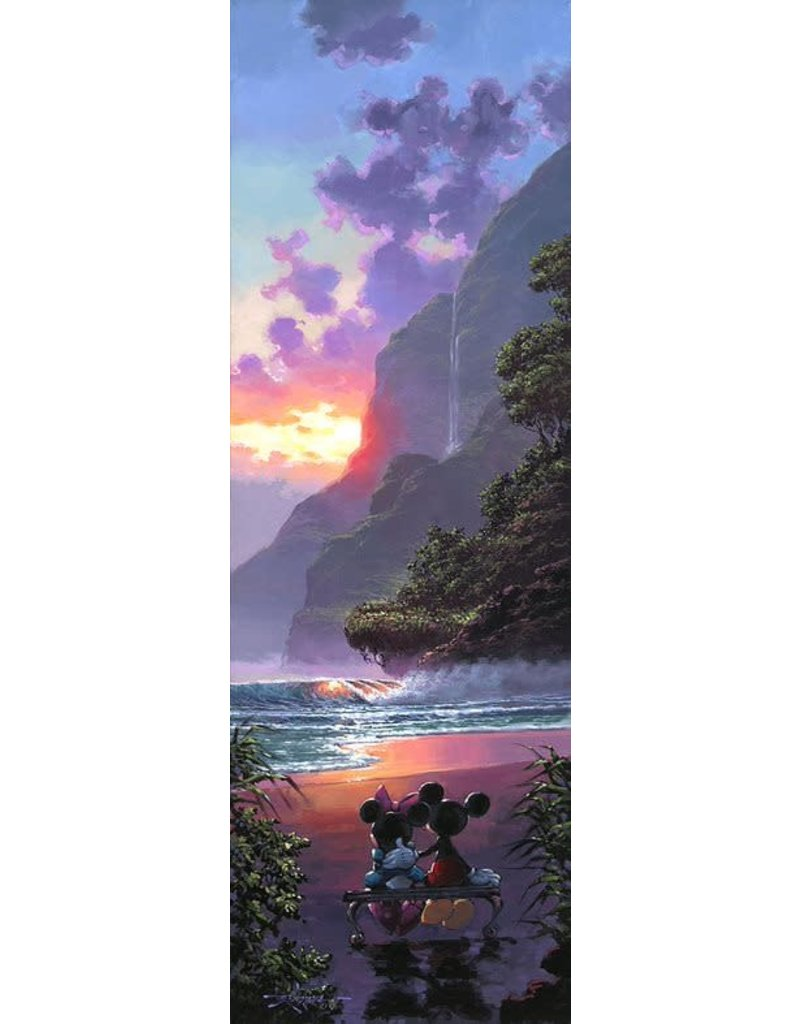 DISNEY Majestic Island -  Disney Treasure On Canvas
