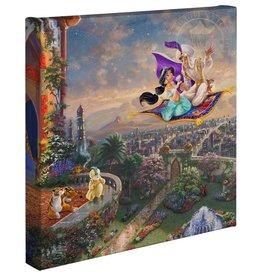 DISNEY Aladdin Kinkade