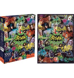 DC COMICS Batman TV Collage 1000 Piece Puzzle