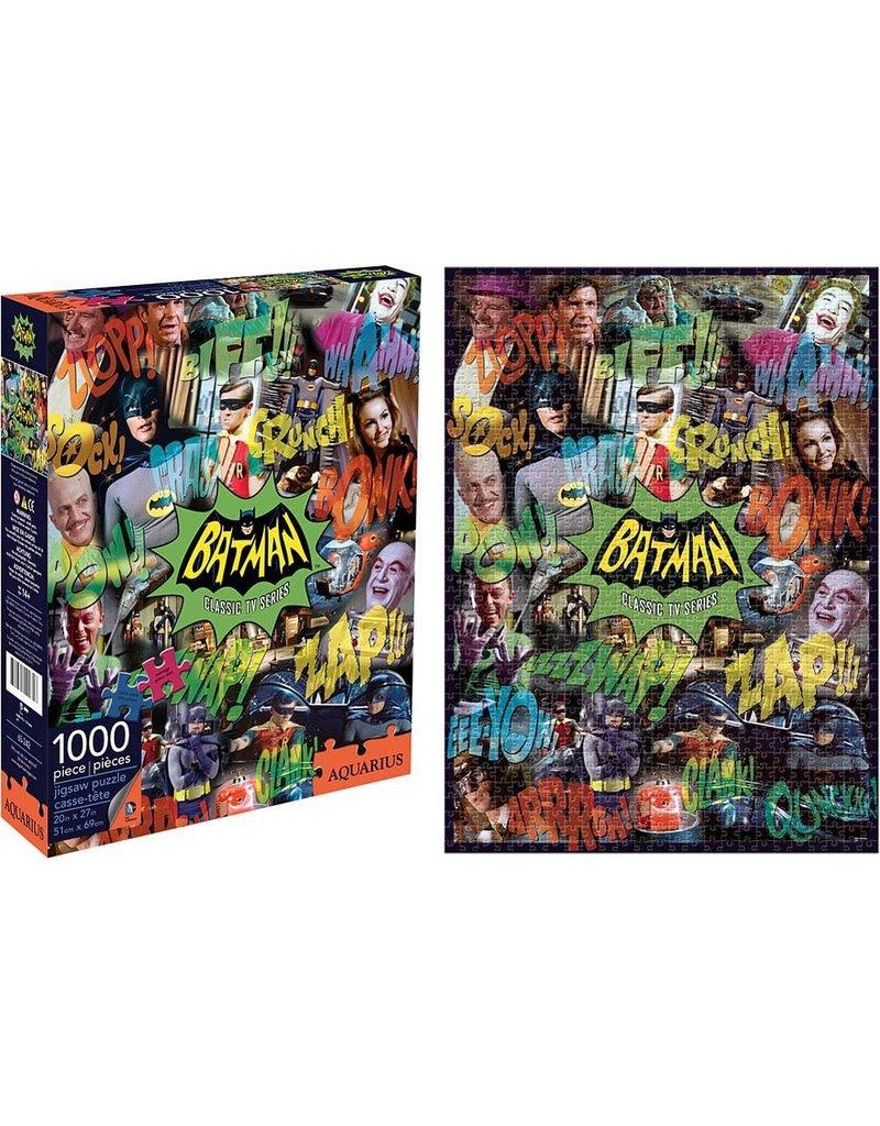 DC COMICS Batman TV Collage 1000 Piece Puzzle
