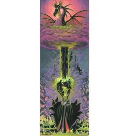 DISNEY Maleficent's Transformation -  Disney Treasure On Canvas