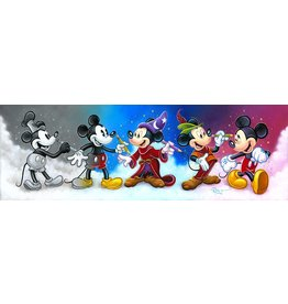 DISNEY Mickey's Creative Journey -  Disney Treasure On Canvas