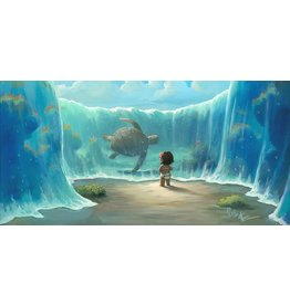 DISNEY Moana's New Friend -  Disney Treasure On Canvas