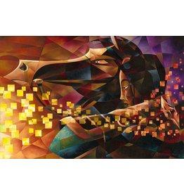DISNEY Mulan The Warrior -  Disney Treasure On Canvas