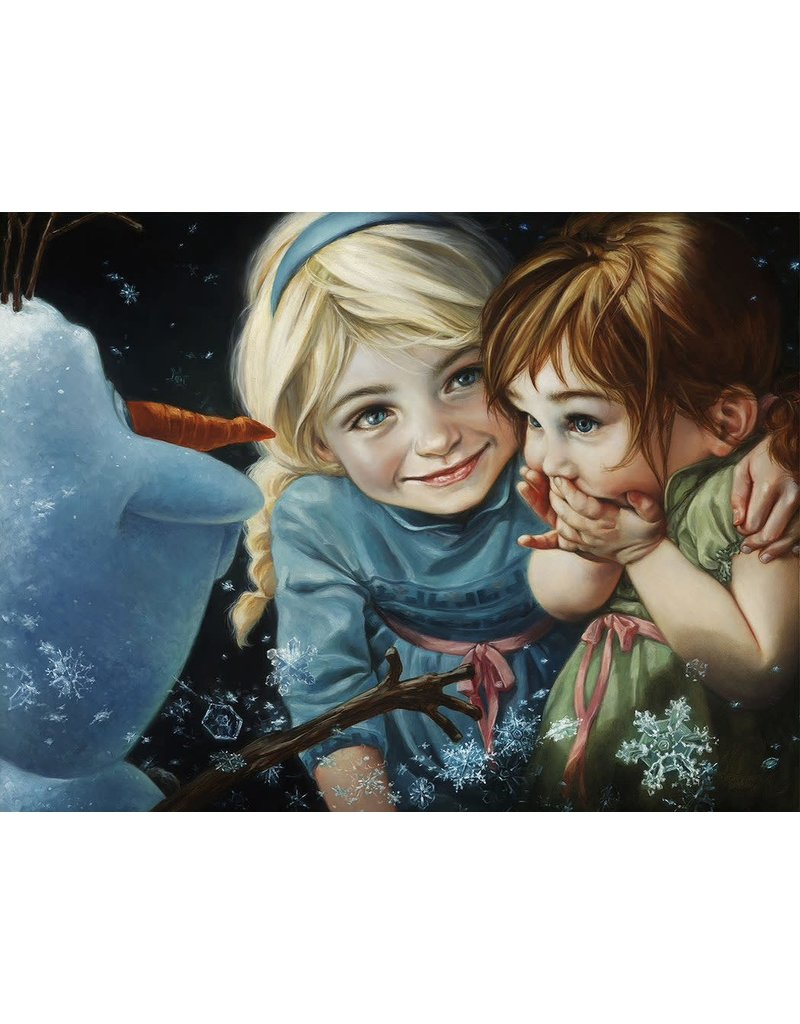 DISNEY Never Let it Go -  Disney Treasure On Canvas
