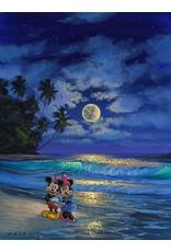 DISNEY Romance Under The Moonlight-  Disney Treasure On Canvas