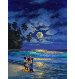 DISNEY Romance Under The Moonlight -  Disney Treasure On Canvas