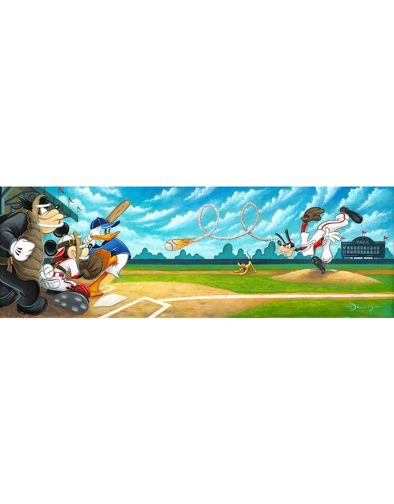 DISNEY Swing For The Fences -  Disney Treasure On Canvas
