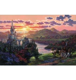 DISNEY The Beauty in Beast's Kingdom - Framed