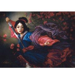 DISNEY The Elegant Warrior -  Disney Treasure On Canvas