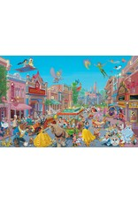DISNEY The Happiest Street on Earth - Framed
