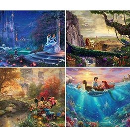 DISNEY 4 in 1 Disney Puzzle 500 pc.