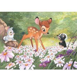 DISNEY The Joy A Flower Brings -  Disney Treasure On Canvas