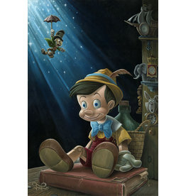 DISNEY The Little Wooden Boy -  Disney Treasure On Canvas