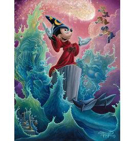 DISNEY The Sorcerer's Finale -  Disney Treasure On Canvas