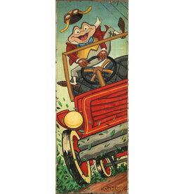 DISNEY The Wild Ride -  Disney Treasure On Canvas