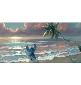 DISNEY Waiting For Waves -  Disney Treasure On Canvas