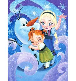 DISNEY Warm Hug for Olaf -  Disney Treasure On Canvas