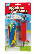 Rocket Balloons with Pump