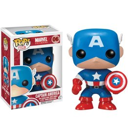 FUNKO POP! Captain America Pop! Figure