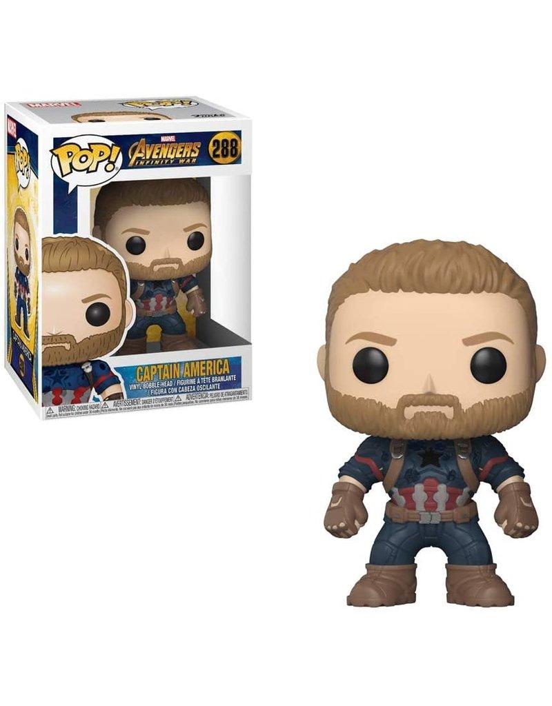 FUNKO POP! Infinity War Cap America Pop! Figure