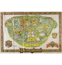 DISNEY 1979 Disneyland Map