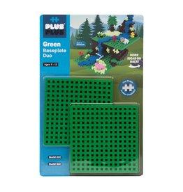 Plus Plus Baseplate Duo Green