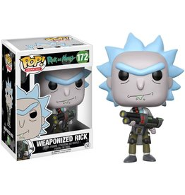 FUNKO POP! Weaponized Rick Pop! Figure
