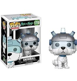 FUNKO POP! Rick And Morty Snowball Pop! Figure