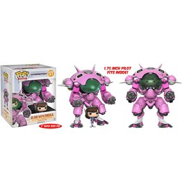 FUNKO POP! Overwatch D. Va With Meka Pop! Figure