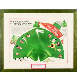DISNEY Peter Pan Punch Out Hat