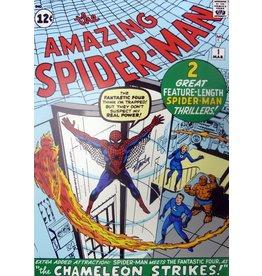 MARVEL COMICS Origins-Spiderman-Signed by Stan Lee