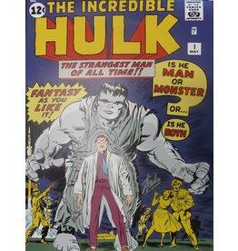 MARVEL COMICS Origins-Hulk-Stan Lee Signed