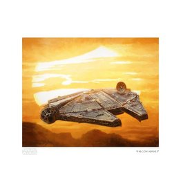 STAR WARS Falcon Sunset