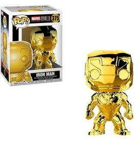 FUNKO POP! Iron Man Chrome Pop! Figure