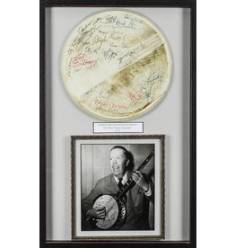 DISNEY Harper Goff Signed Banjo Head