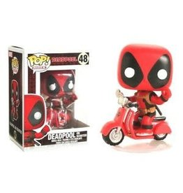 FUNKO POP! Deadpool Pop! Rides Figure