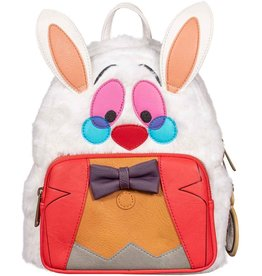 DISNEY Loungefly White Rabbit Mini Backpack