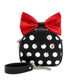 DISNEY Loungefly Minnie Big Red Bow Crossbody