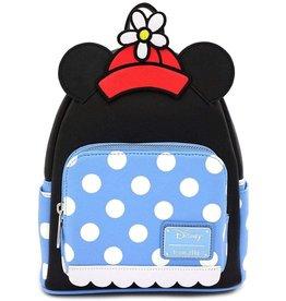 DISNEY Loungefly Minnie Mouse Polka Dot Mini Backpack